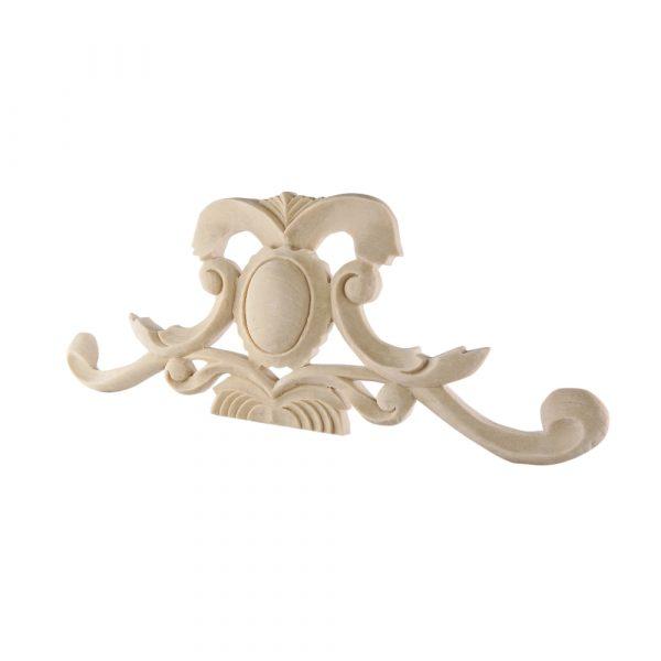 008/D Pediment DecWOOD Carved Moulding