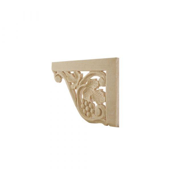 009/D Vine Corners (Pair) DecWOOD Carved Mouldings