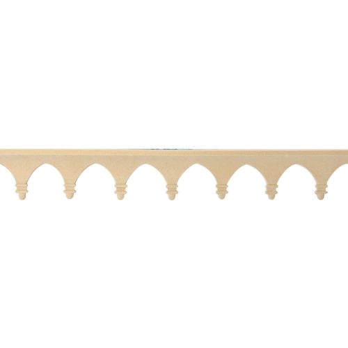 021/D Gothic Strip DecWOOD Carved Linear Moulding