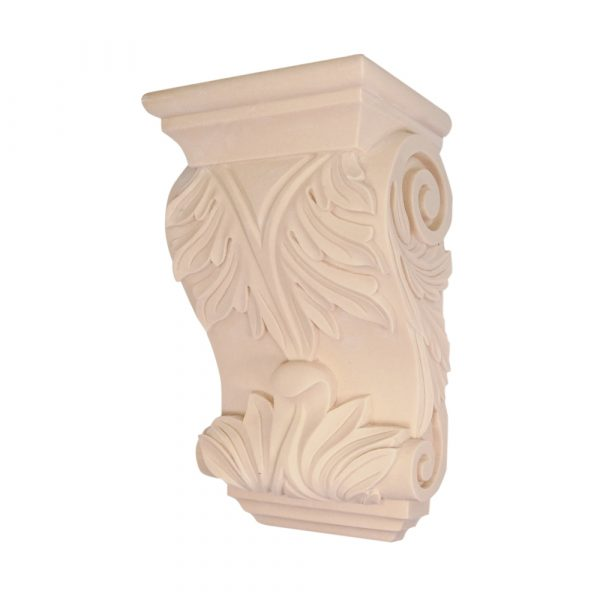 022/D Large Acanthus Corbel | DecWOOD Mouldings | Bespoke Carved Corbels | Decora Mouldings