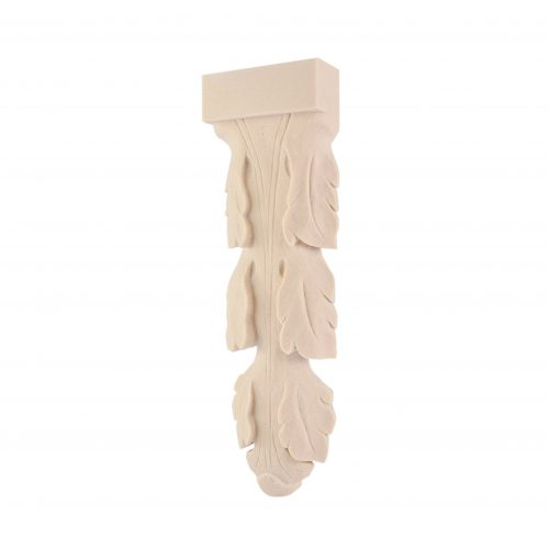 026/D Vine Leaf Corbel Shelf Bracket DecWOOD Carved Moulding | Decora Mouldings