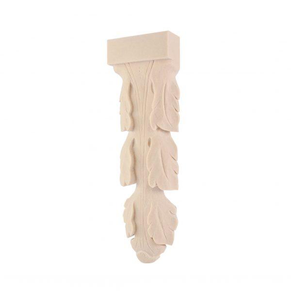 026/D Vine Leaf Corbel Shelf Bracket DecWOOD Carved Moulding | Decora Mouldings