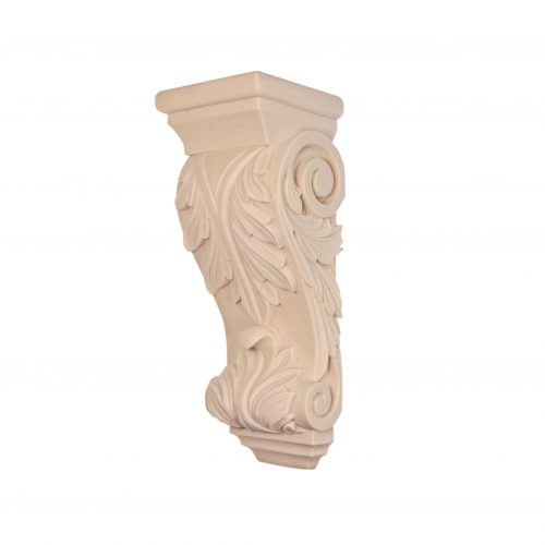 036/D DecWOOD Medium Acanthus Corbel | DecWOOD Mouldings | Bespoke Carved Corbels | Decora Mouldings