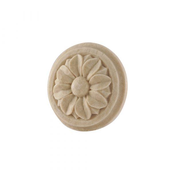 039/D Carved Flower Patrae Rosette DecWOOD Carving | Decora Mouldings