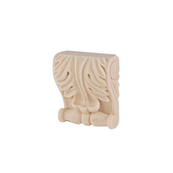 043/D Small Acanthus Corbel Shelf Bracket DecWOOD Moulding Decora Mouldings