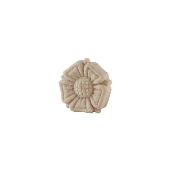 046/D Carved Rose Flower Patrae DecWOOD Moulded Rosette   Decora Mouldings