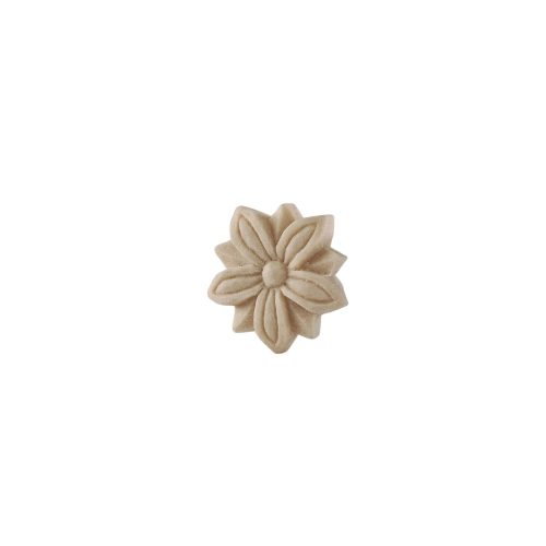 047/D Carved Flower Patrae DecWOOD Rosette | Decora Mouldings