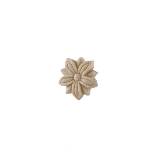 047/D Carved Flower Patrae DecWOOD Rosette | Decora Mouldings