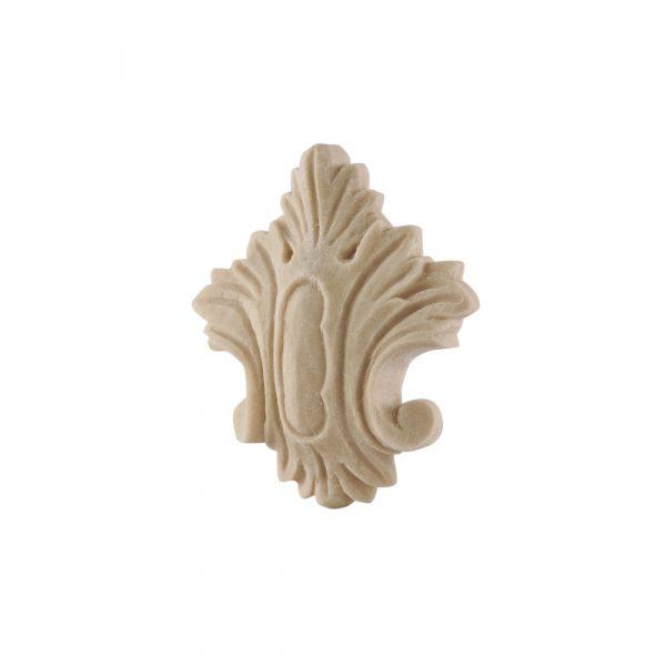 052/D Small Carved Crest DecWOOD Applique | Decora Mouldings