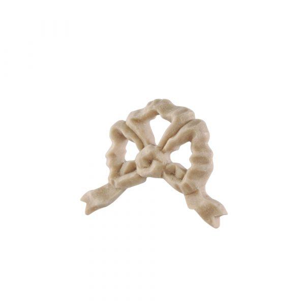 056/D Small Ribbon Bow Applique DecWOOD Decora Mouldings
