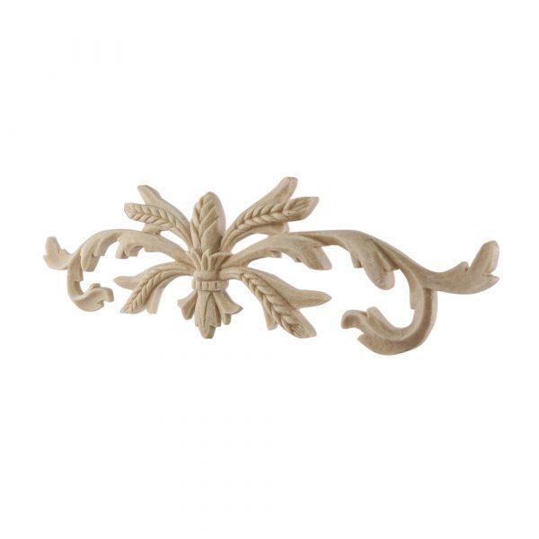 062/D Wheat Ear Centre DecWOOD Moulded Carving | Decora Mouldings