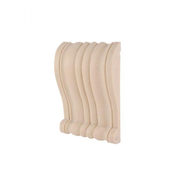 065/D Slim Ribbed Corbel Shelf Bracket DecWOOD Carving   Decora Mouldings