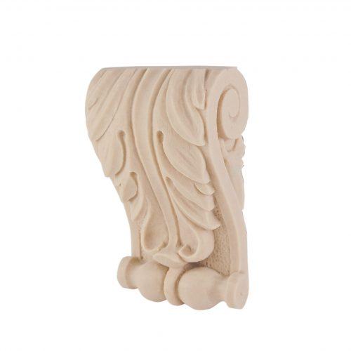 068/D Small Acanthus Corbel   DecWOOD Mouldings   Bespoke Carved Corbels   Decora Mouldings