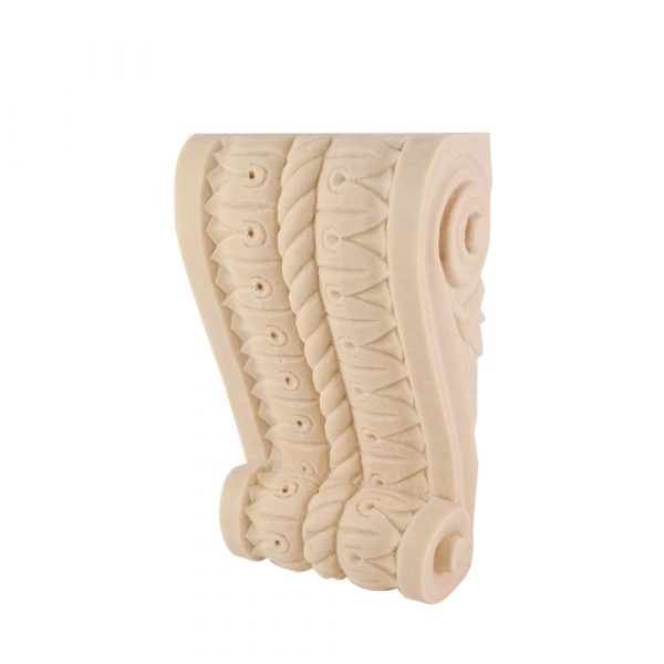 069/D Rope Twist Corbel Shelf Bracket Moulded DecWOOD Carving | Decora Mouldings