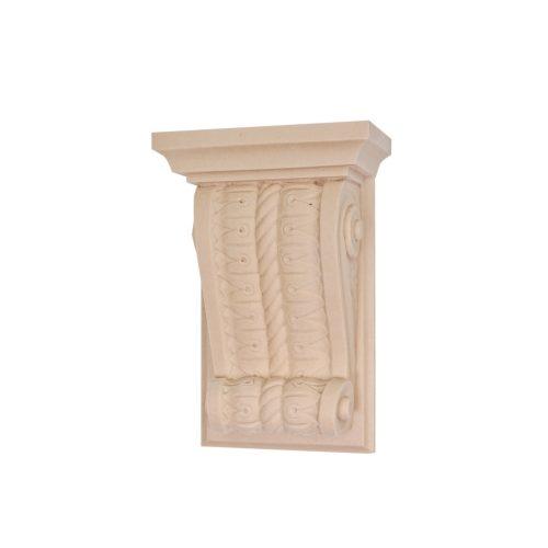 070/D Rope Twist Corbel Shelf Bracket DecWOOD Carving | Decora Mouldings