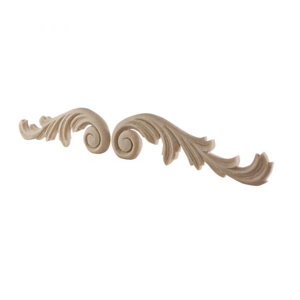 073/D Carved Scrolls (Pair) DecWOOD Applique   Decora Mouldings