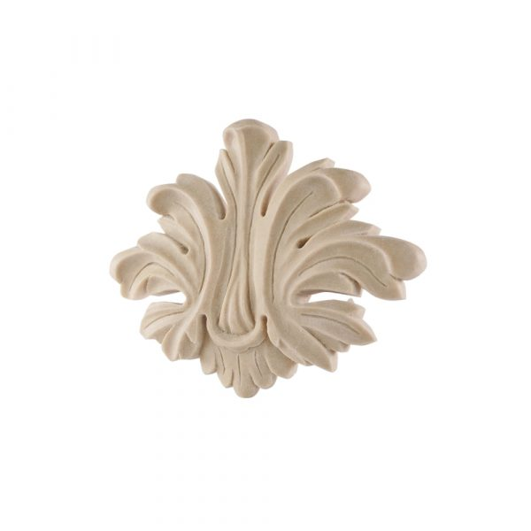 075/D Large Carved Leaf DecWOOD Centre Applique | Decora Mouldings