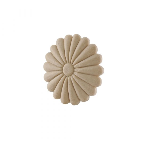 077/D Flower Daisy Sun Patrae DecWOOD Rosette | Decora Mouldings