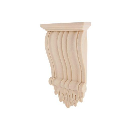 087/D Ribbed Corbel DecWOOD Carved Shelf Bracket | Decora Mouldings