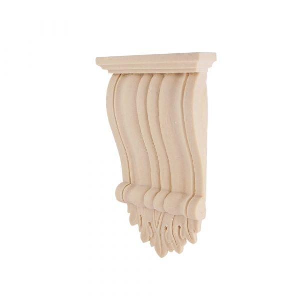 087/D Ribbed Corbel DecWOOD Carved Shelf Bracket   Decora Mouldings