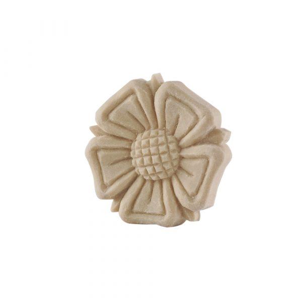 091/D Round Rose Flower Patrae DecWOOD Rosette   Decora Mouldings