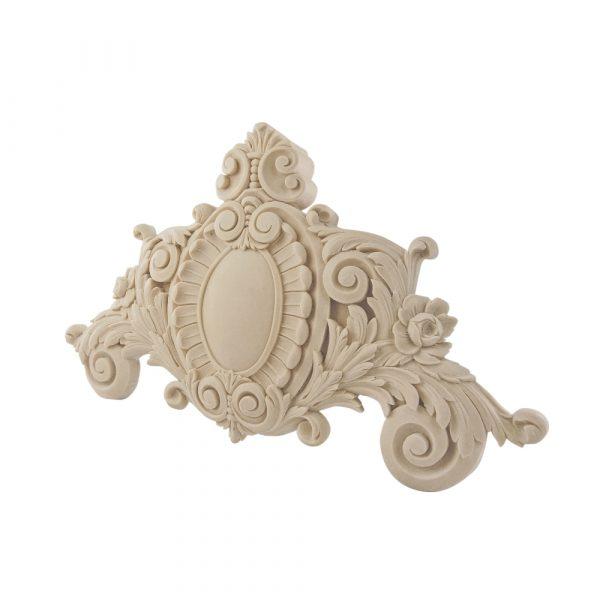 095/D Large Ornate Carved Pediment | DecWOOD Centre | Decora Mouldings