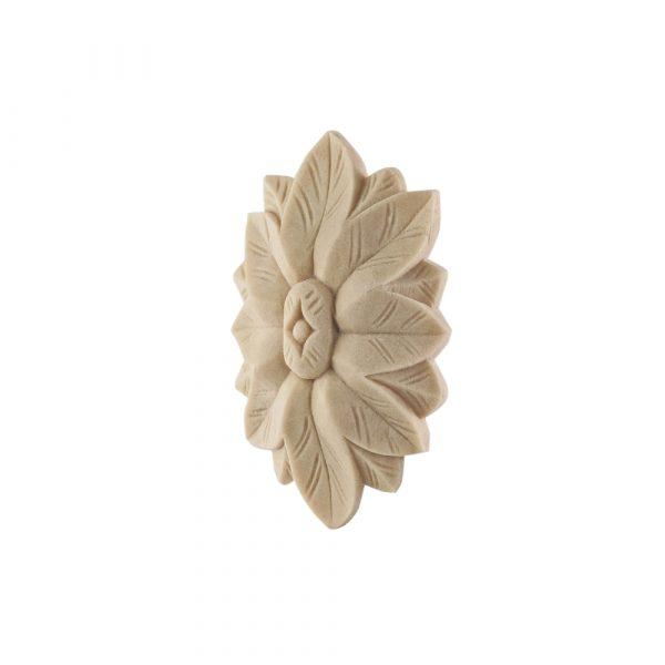 097/D Oval Flower Patrae DecWOOD Carving   Decora Mouldings