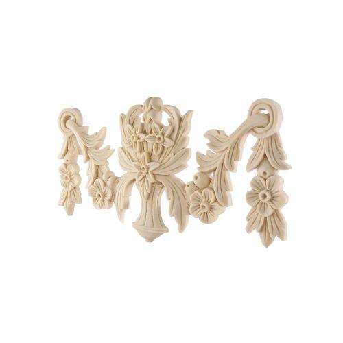 099/D Ornate Floral Swag DecWOOD Carving | Decora Mouldings