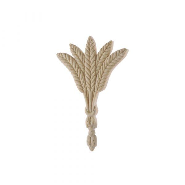 100/D Carved Wheat Sheaf DecWOOD Applique   Decora Mouldings