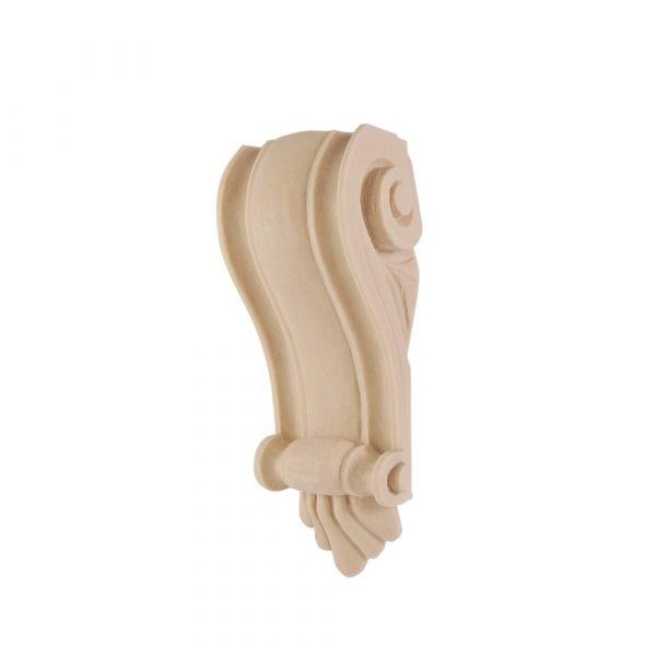 109/D Scroll Corbel Shelf Bracket Pine DecWOOD   Decora Mouldings