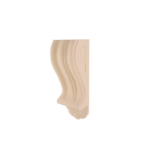 114/D Fluted Ribbed Corbel DecWOOD Shelf Bracket | Decora Mouldings