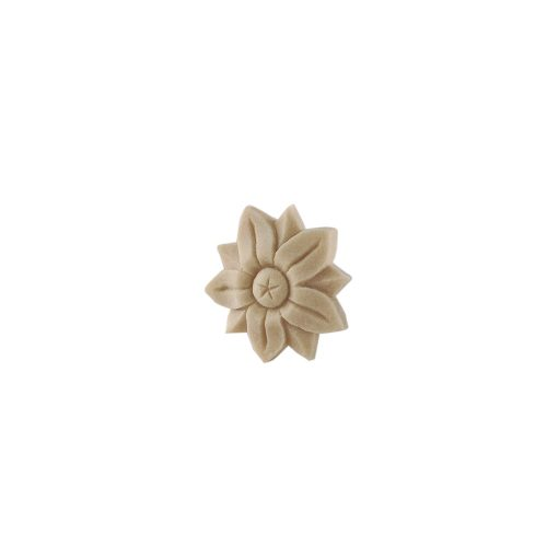 127/D Round Flower Patrae DecWOOD Rosette | Decora Mouldings