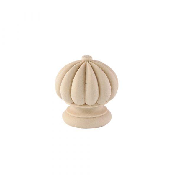 130/D Carved Reeded Finial DecWOOD   Decora Mouldings