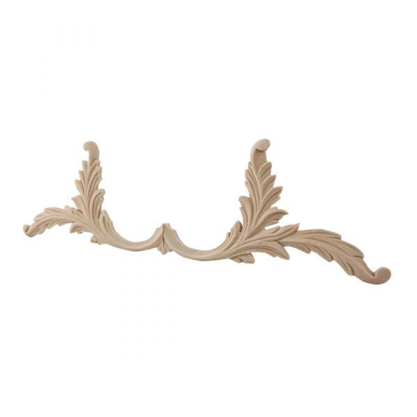 134/D Leaves for Frieze (Pair) DecWOOD Carvings | Decora Mouldings