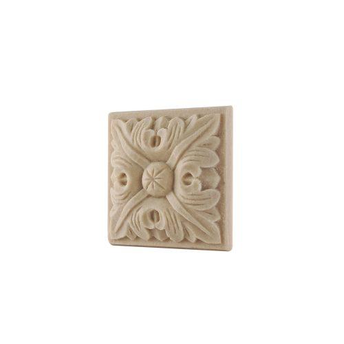 138/D Square Patrae DecWOOD Rosette | Decora Mouldings