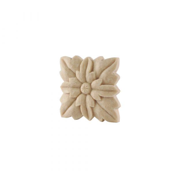 139/D Square Flower Patrae DecWOOD Rosette | Decora Mouldings