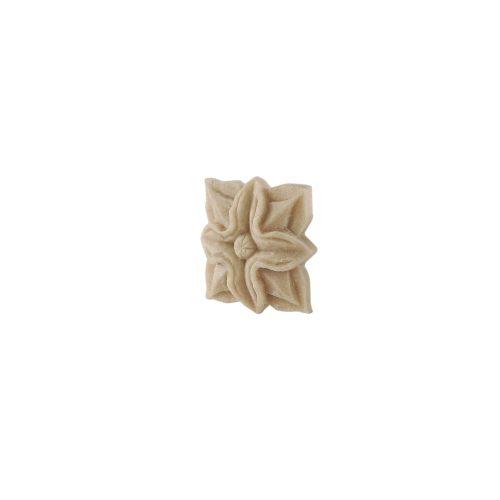 140/D Square Flower Patrae DecWOOD Rosette | Decora Mouldings