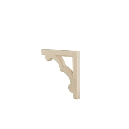 142/D Corner Bracket (Pair) Fretted DecWOOD Carving | Decora Mouldings