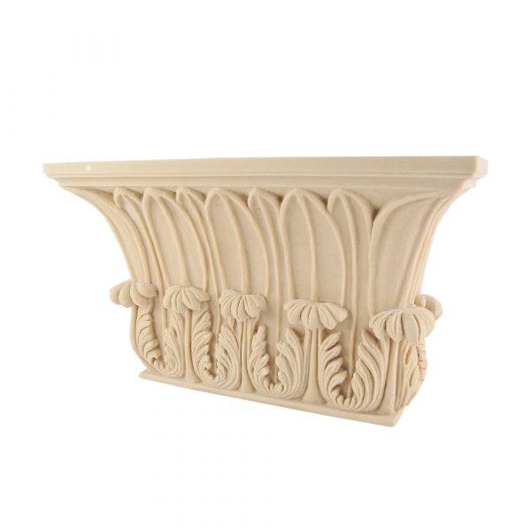 145/D Gothic Carved Acanthus Leaf DecWOOD Capital   Decora Mouldings