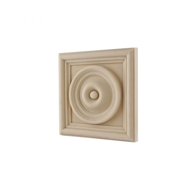162/D Framed Square Patrae Bullseye DecWOOD Roundel | Decora Mouldings