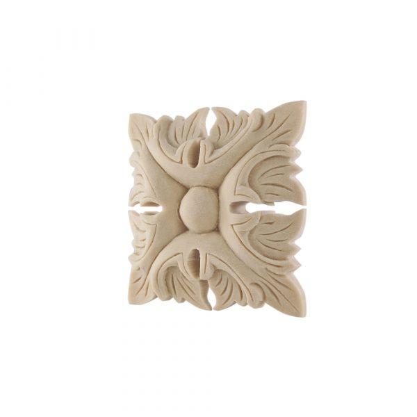 167/D Square Patrae DecWOOD Rosette | Decora Mouldings