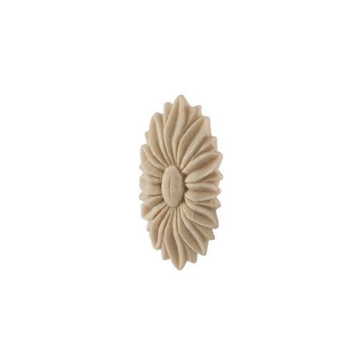170/D Carved Oval Flower Patrae DecWOOD Rosette | Decora Mouldings