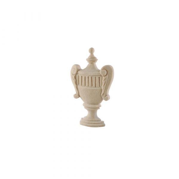 172/D Small Carved Urn DecWOOD Applique   Decora Mouldings
