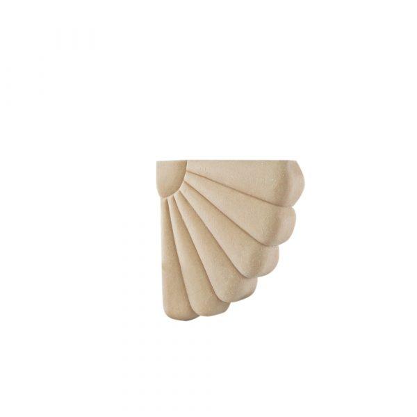 173/D Daisy Corner (Pair) DecWOOD Carving | Decora Mouldings