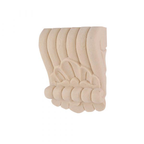 178/D Reeded Shell Corbel DecWOOD Shelf Bracket | Decora Mouldings