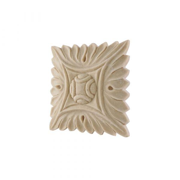 183/D Square Flower Patrae DecWOOD Rosette   Decora Mouldings