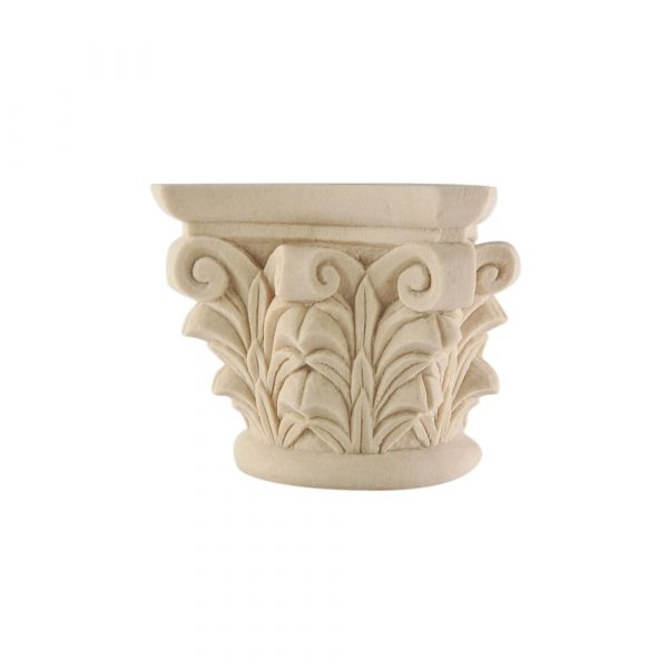 187/D Carved Capital for column DecWOOD Decora Mouldings
