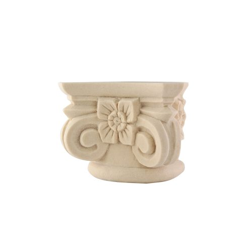 188/D Ionic Capital with Flower DecWOOD Decora Mouldings
