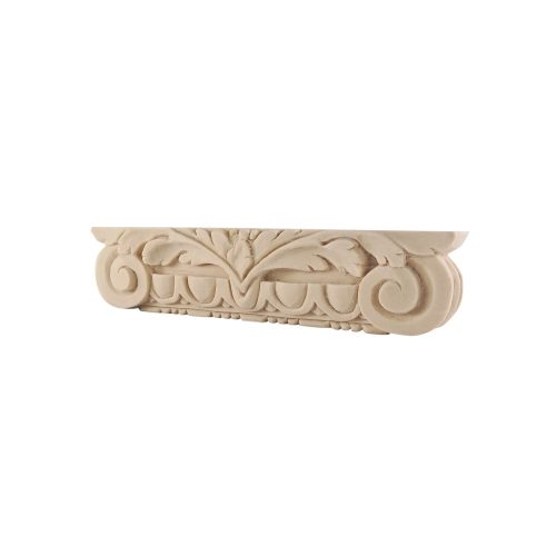 191/D Large Ornate Capital Scroll Leaf Egg & Dart DecWOOD Capital | Decora Mouldings