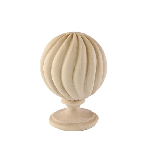 195/D Twist Reed Finial DecWOOD Carving | Decora Mouldings